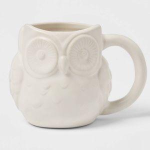 Threshold Stoneware Owl Mug